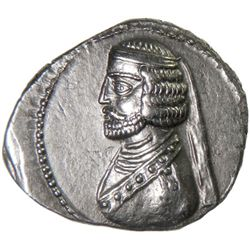 PARTHIAN KINGDOM: Phraates III, c. 70-57 BC, AR drachm (3.90g), Court mint