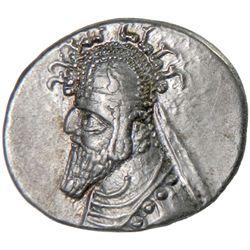 PARTHIAN KINGDOM: Phraates III, c. 70-57 BC, AR drachm (4.07g), Rhagae