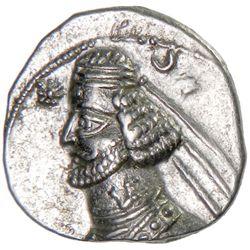 PARTHIAN KINGDOM: Orodes II, c. 57-38 BC, AR drachm (3.93g), Rhagae