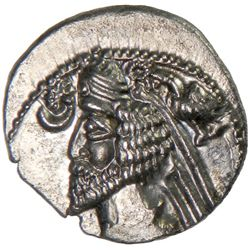 PARTHIAN KINGDOM: Phraates IV, c. 38-2 BC, AR drachm (3.64g), Mithradatkart