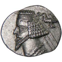 PARTHIAN KINGDOM: Phraates IV, c. 38-2 BC, AR drachm (3.58g), Laodikea
