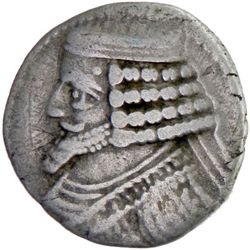 PARTHIAN KINGDOM: Phraates IV, c. 38-2 BC, AR tetradrachm (14.43g), Seleukeia on the Tigris mint