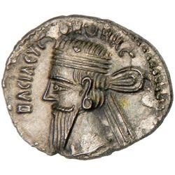 PARTHIAN KINGDOM: Vonones I, AD 8-12, AR drachm (3.40g), Ekbatana