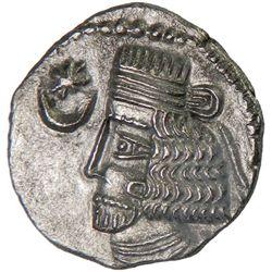 PARTHIAN KINGDOM: Vardanes I, 40-45, BI drachm (3.27g), Mithradatkart
