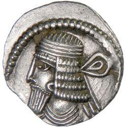 PARTHIAN KINGDOM: Vologases I, AD 51-78, AR drachm (3.50g)