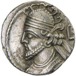 PARTHIAN KINGDOM: Vologases III, AD 105-147, BI tetradrachm (14.19g), Seleukeia, Sel-435 (AD 123/24)