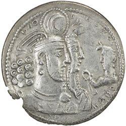 SASANIAN KINGDOM: Varahran II, 276-293, AR drachm (3.90g)