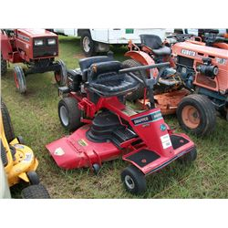 SNAPPER SR170 RIDING MOWER Ser#:25532142