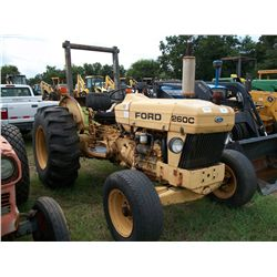 Ford 260C DIESEL TRACTOR Ser#:BC92315