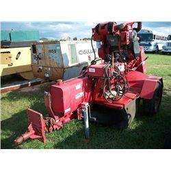 Carlton 4100D Stump Grinder, Duetz Diesel Engine Ser#:C198724741