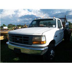 1992 Ford SUPER DUTY FLAT BED DUMP TRUCK Ser#:2FDLF47GXNCA05420 Odm#:90123