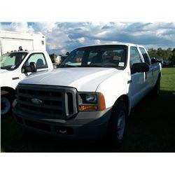 2005 Ford F350 CREW CAB PICKUP Ser#:1FTWW30515EB85174 Odm#:175305
