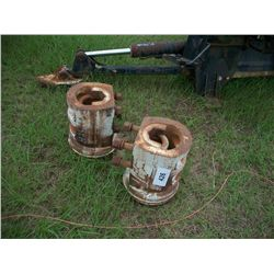 REAR DUAL HUBS (OFF FORD TRACTOR)