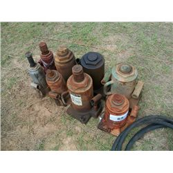 (1) LOT OF HYDRAULIC JACKS