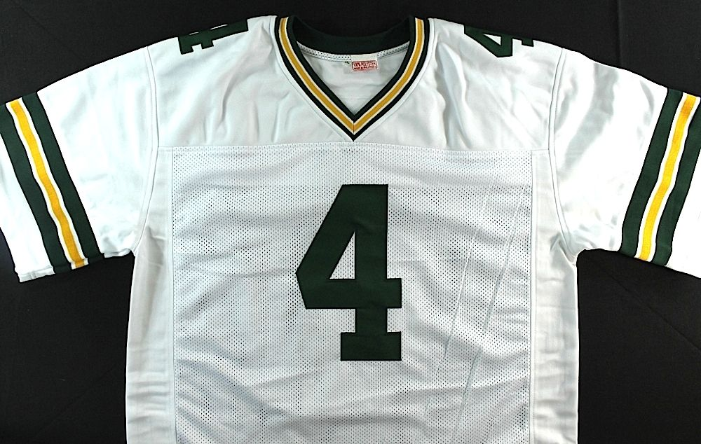 56487659 Lot of (5) Brett Favre Signed Packers Jerseys (Favre COA)