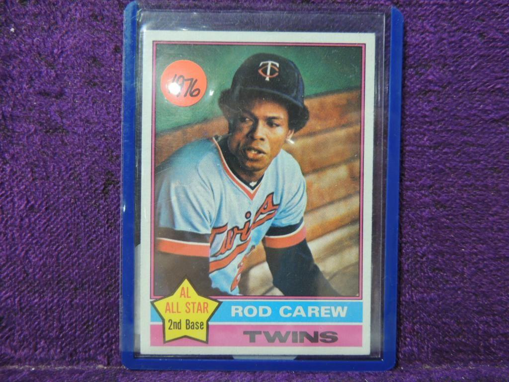 1976 TOPPS ROD CAREW #400 BASEBALL CARD