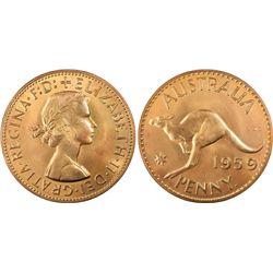 1959(p) Proof Penny PCGS PR65+RD