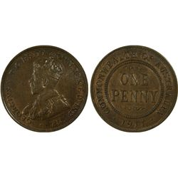 1911 Penny PCGS MS62BN