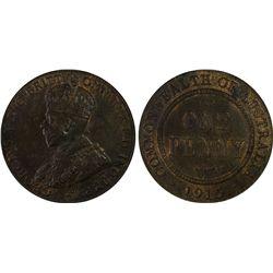 1915-H Penny PCGS MS63BN