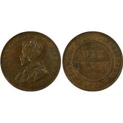 1926(m,sy) Penny PCGS AU55