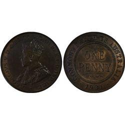 1931(m) Penny PCGS MS64BN