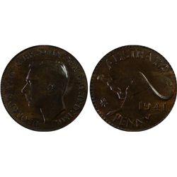 1941(p) Penny PCGS MS62BN