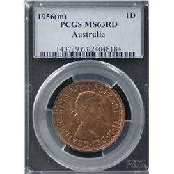 1956(m) Penny PCGS MS63RD