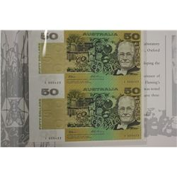 Vertical Pair  Fraser Evans $50