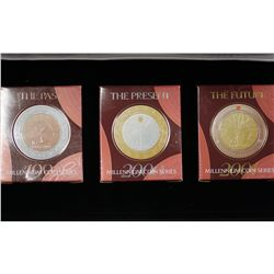 Millennium Coin Series, In Box of issue