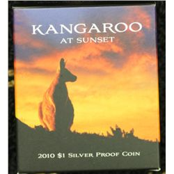 Kangaroo at Sunset $1