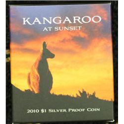 Kangaroo at Sunset $1