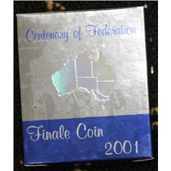 2001 Finale Coin, Hologram