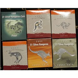 Kangaroo Proof series, Set of 6 coins