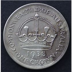 1938 Crown Extremely Fine