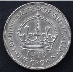 1938 Crown, Good Extremely Fine Plus