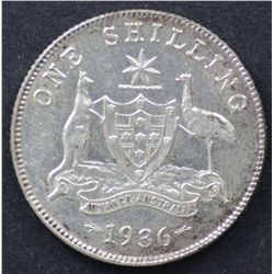 1936 Shilling Good Extremely Fine