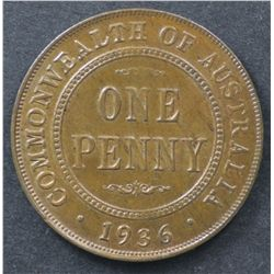 1936 Penny Uncirculated, 1949 Penny Uncirculated