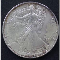 USA 1 Oz Silver1995