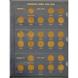 Canada 1c Collection 1920 to 1969