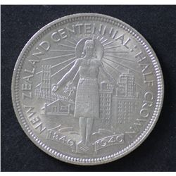 1940 NZ ½ Crowns, Nearly Unc (2)