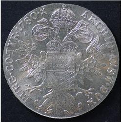 Austria Maria Theresa Thalers 1780 BU (3), restrikes