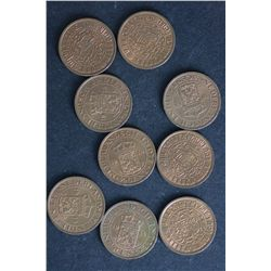 Netherland Indies ½ Cent 1914 BU (9)