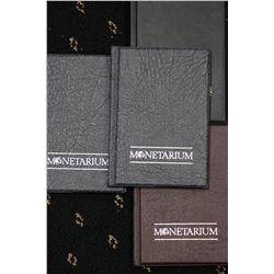 Monetarium Pocket albums,hold 36 Coins, (4)
