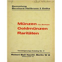 SAMMLUNG BERNHARD HEILBRUNN GOTHA