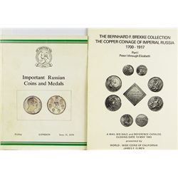 RUSSIAN COIN CATALOGUES