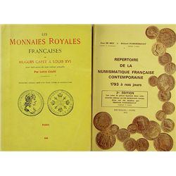WORKS ON FRENCH COINS
