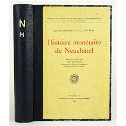 HISTOIRE MONÉTAIRE DE NEUCHÂTEL.