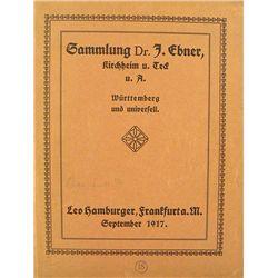 SAMMLUNG DES HERRN DR. J. EBNER.