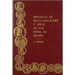 MEDALLAS DE PROCLAMACIONES Y JURAS