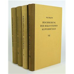 Four Volumes of Neumann on Copper Coins